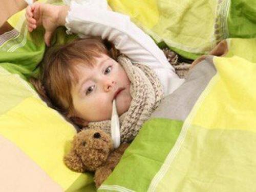 Снять жар у ребенка. Как сбить температуру ребенку: народные методы