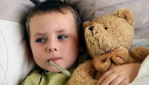 Чем снять у ребенка высокую температуру. Какую температуру нужно сбивать ребенку